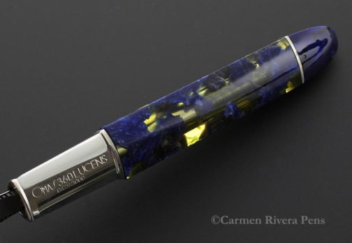 Omas 360 Lucens Celluloid Fountain Pen Limited Edition