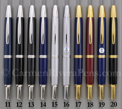 Pilot Namiki Vanishing Point Capless Fountain Pens