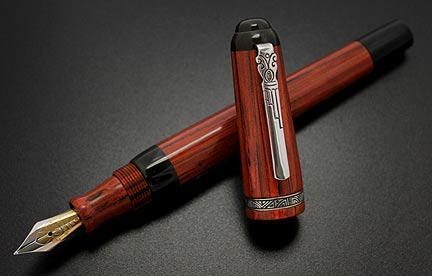 marlen-atellan-buccus-business-ebonite-silver-fountain-pen-2