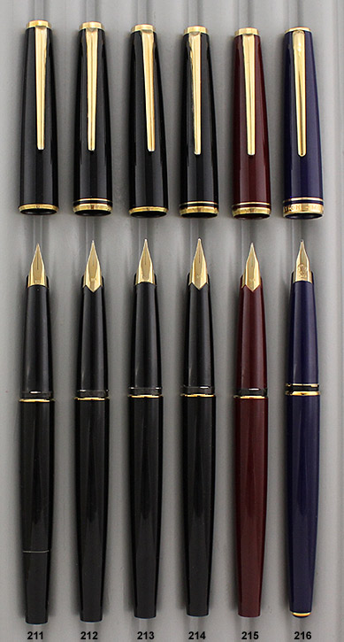 montblanc-generations-fountain pen-black-burgundy-purple-211-216