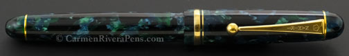 Namiki Custom Impressions Emerald Green Fountain Pen
