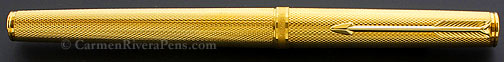 Parker 75 Premier Gold Grain D'orge Fountain Pen