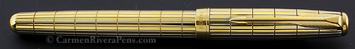 Parker Sonnet gold Vermeil Crocodile Fountain Pen
