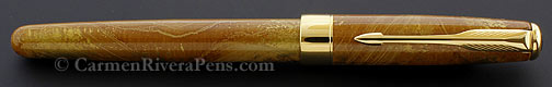 Parker Sonnet Premier Amber Chinese Lacquer Fountain Pen