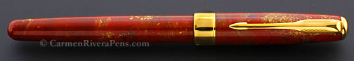 Parker Sonnet Premier Red Chinese Lacquer Fountain Pen