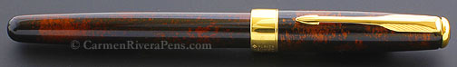 Parker Sonnet Premier Vision Fonce Dark Brown Lacquer Fountain Pen