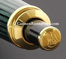 Pelikan D400 Green Stripe Mechanical Pencil