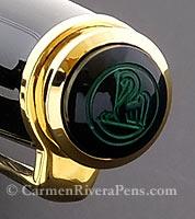 Pelikan M400 Green Stripe Fountain Pen