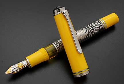 pelikan-toledo-m910-yellow-fountain-pen-2