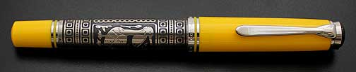 pelikan-toledo-m910-yellow-fountain-pen
