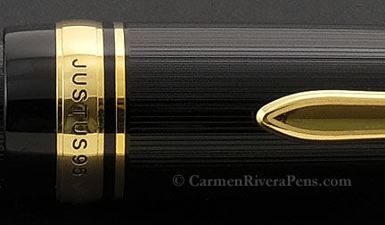 Pilot Justus 95 Black Fountain Pen