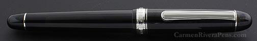 Platinum #3776 Century Black Diamond Fountain Pen