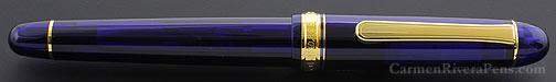 Platinum Century #3776 Chartres Blue Fountain Pen