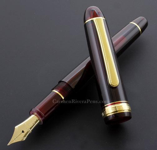 Platinum Century #3776 Bourgogne red Fountain Pen